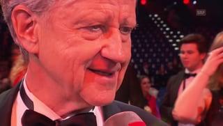 Freddy Burger holt Udos Preis ab: «Bin froh, dass es vorbei ist»