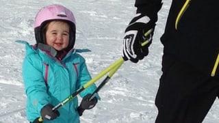 Jöööh! Herzige Kerlchen auf Skis
