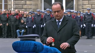 Frankreich nimmt Abschied von getöteten Polizisten