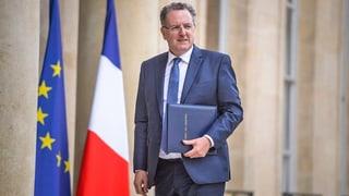 In der neuen Regierung wird Stadtplanungsminister Richard Ferrand nicht mehr dabei sein.