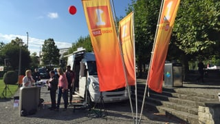 Das war das «Wahl-Lokal» in Kreuzlingen