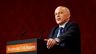 «Frechheit»: Maurer kommentiert Grenzwacht-Debatte
