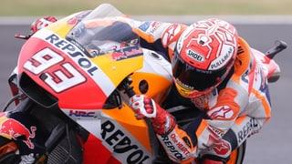 Marquez treibt Konkurrenz zur Weissglut