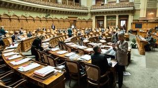 Wenig Veränderung in Sicht: Schwyzer Nationalräte wollen bleiben