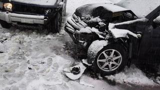 36 accidents sin las vias grischunas