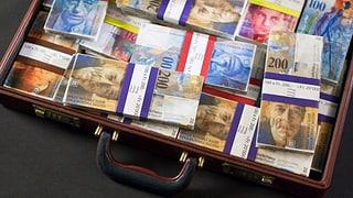 Steueramnestie in Kantonen Aargau und Solothurn mit Rekordzahlen
