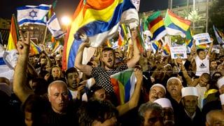 Zehntausende gegen Israels «Nationalitätsgesetz»