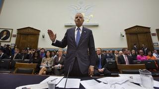 US-Justizminister unter Druck