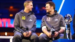 Goff erinnert sich nicht an Bradys ersten Super Bowl