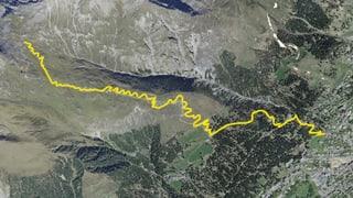 Nov traject da mountainbike a Tavau