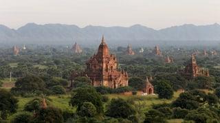 Myanmar: Erdbeben beschädigt Tempel von Bagan