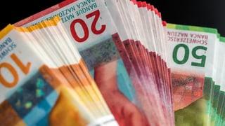 Bancas chantunalas augmentan gudogn