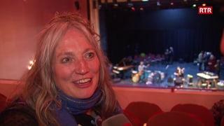 60 onns Corin Curschellas - la festa (Artitgel cuntegn video)