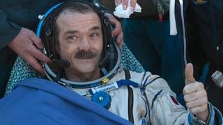 «Touch down» für singenden Astronauten