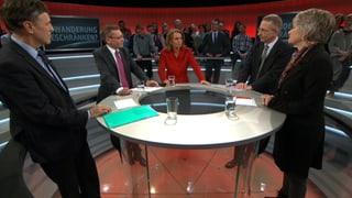 «Arena»: Wieviel Zuwanderung braucht die Schweiz?