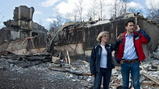 Primminister canadais visita Fort McMurray
