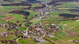 Die Fusion von Bözen, Effingen, Elfingen und Hornussen würde die Bezirksgrenze sprengen