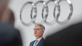 Audi-Chef festgenommen