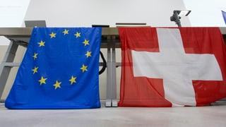 Schweiz-EU: Drei aktuelle Baustellen