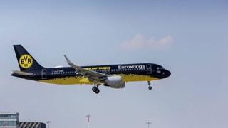 Schalke-Fans: Heimflug im BVB-Flugzeug