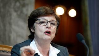 Anita Fetz darf nochmals für den Ständerat kandidieren