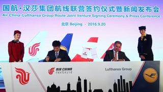 Lufthansa und Air China stärken Zusammenarbeit: Zahlt der Kunde?
