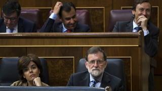 Misstrauensantrag gegen Rajoy