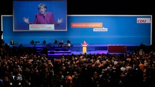 Merkels Endspurt: «Haut nochmal richtig rein»  (Artikel enthält Video)