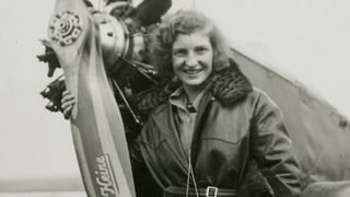Eine Flugpionierin aus der Schweiz gab es schon früher: Margaret Fusbahn überflog in den 1930ern alle anderen – ein Porträt.