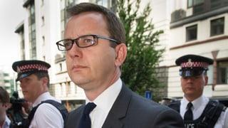 Britischer Abhörskandal: 18 Monate für Ex-Chefredaktor