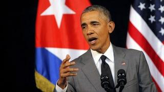 Obama: «Wir wollen die Vergangenheit hinter uns lassen»