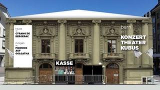 Einsprachen gegen Theaterkubus auf dem Berner Waisenhausplatz