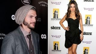 Ashton Kutcher und Mila Kunis in flagranti ertappt
