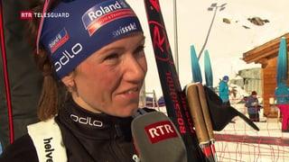 Selina Gasparin ha dà ses comeback