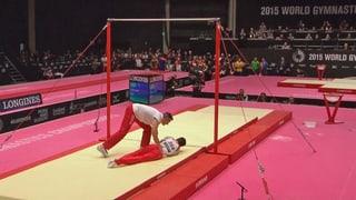 Hegi stürzt am Reck - Uchimura und Biles überragend