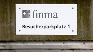 Finma geht härter gegen fehlbare Banker vor