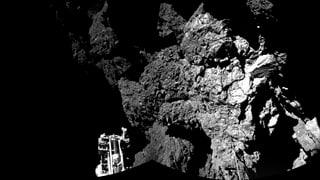 Kometen-Labor «Philae» im Tiefschlaf