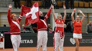 Schweizerinnen schlagen Belgien