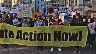 Der Klimaprotest ist in Schaffhausen angekommen