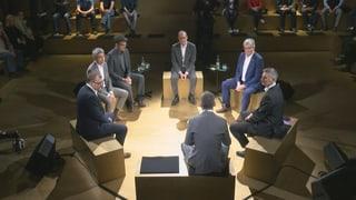 Podium d'elecziuns a Riom: Ideas novas, ma paucas surpraisas