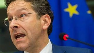 Massive Rücktrittsforderungen an den Euro-Gruppen-Chef