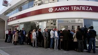 Zypern: Vermögenden Sparern drohen hohe Verluste