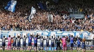 Fussballrandale nach FCL-Sieg