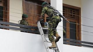 15 Tote bei Anti-Terror-Razzia