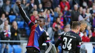 Basel dank Embolo und Vaclik zum schmeichelhaften Sieg