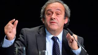 Uefa-Chef Platini fordert Blatter zum Rücktritt auf