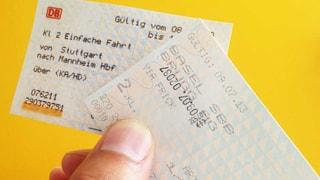 Neues SBB-Billett-Papier nicht nachhaltig