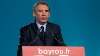 Bayrou will sich bei Präsidentschaftswahl Macron anschliessen