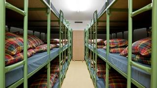 Graubünden will Flüchtlinge in Zivilschutzanlagen unterbringen