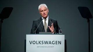Deutsche Justiz ermittelt gegen den VW-Chef